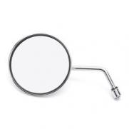 Gương tròn xe máy tròn (Bạc)