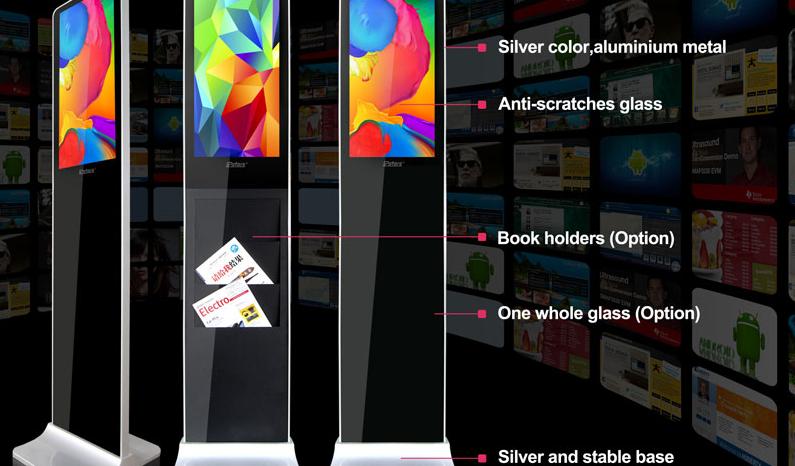 Màn hình led quảng cáo brochure đứng 21.5 inch