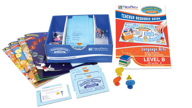 Mastering Spelling, Vocabulary & High Frequency Words Curriculum Mastery® Game - Grade 2 - Class-Pack Edition