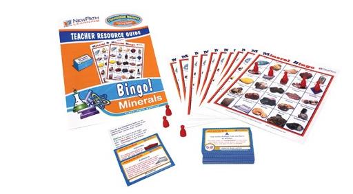 Mineral Bingo! Game