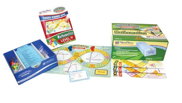 NEW YORK Grades 8 - 10 Math Curriculum Mastery® Game - Class-Pack Edition