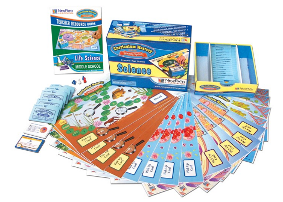 Middle School Life Science Curriculum Mastery® Game - Class-Pack Edition