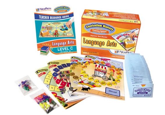 NEW YORK Grade 3 Language Arts Curriculum Mastery® Game - Class-Pack Edition