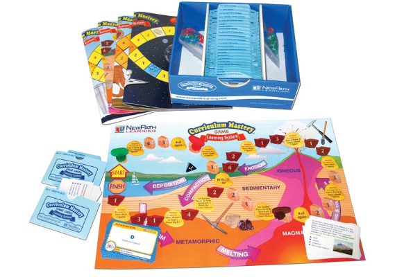 Middle School Earth Science Curriculum Mastery® Game - Class-Pack Edition
