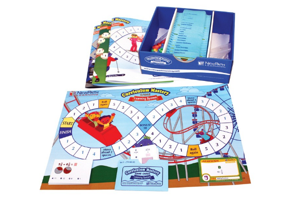 Grade 5 Math Curriculum Mastery® Game - Class-Pack Edition
