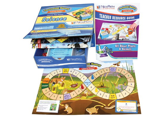 Plants & Animals Curriculum Mastery® Game - Grades 3 - 5 - Class-Pack Edition
