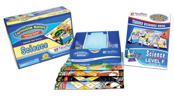 NEW YORK Grade 6 Science Curriculum Mastery® Game - Class-Pack Edition