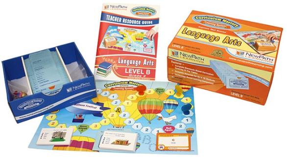 NEW YORK Grade 2 Language Arts Curriculum Mastery® Game - Class-Pack Edition