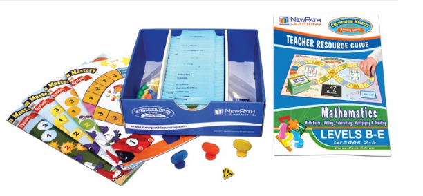 Math Facts Curriculum Mastery® Game - Grades 2 - 5 - Class-Pack Edition