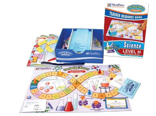 Grades 8 - 10 Science Curriculum Mastery® Game - Class-Pack Edition