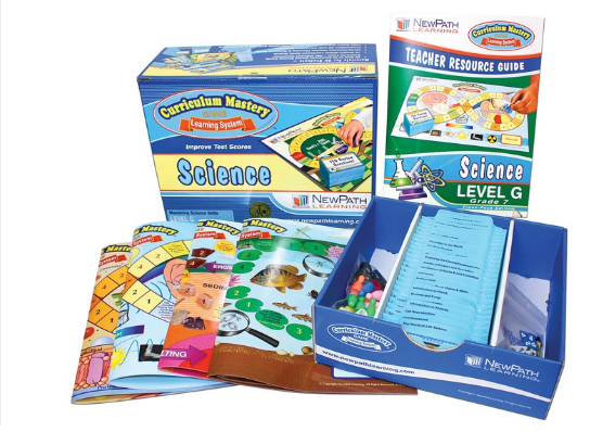NEW YORK Grade 7 Science Curriculum Mastery® Game - Class-Pack Edition