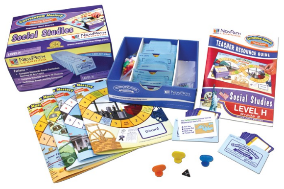 Grades 8 - 10 Social Studies Curriculum Mastery® Game - Class-Pack Edition