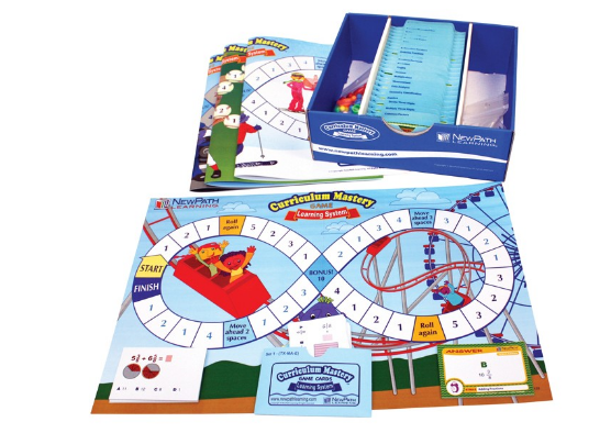 NEW YORK Grade 5 Math Curriculum Mastery® Game - Class-Pack Edition