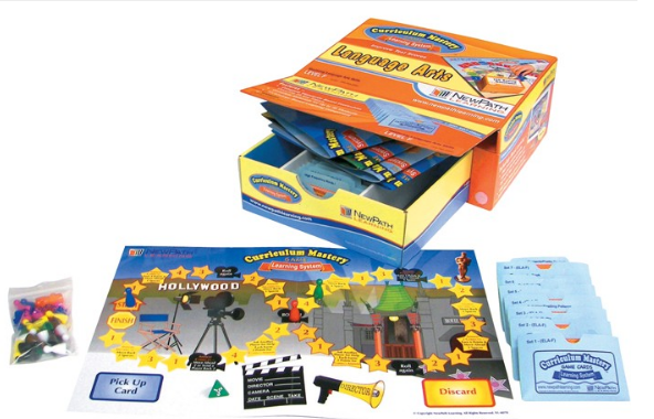 TEXAS Grade 6 Language Arts Curriculum Mastery® Game - Class-Pack Edition