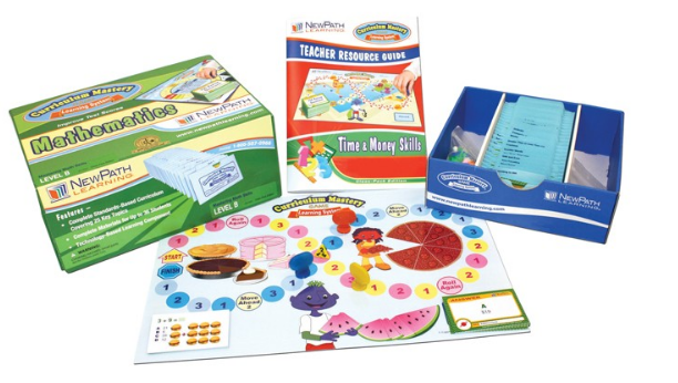 Time & Money Skills Curriculum Mastery® Game - Grades 2 - 4 - Class-Pack Edition