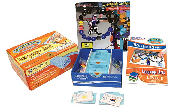 TEXAS Grade 5 Language Arts Curriculum Mastery® Game - Class-Pack Edition