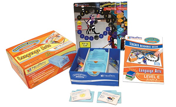 Grade 5 Language Arts Curriculum Mastery® Game - Class-Pack Edition