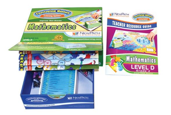 Grade 4 Math Curriculum Mastery® Game - Class-Pack Edition