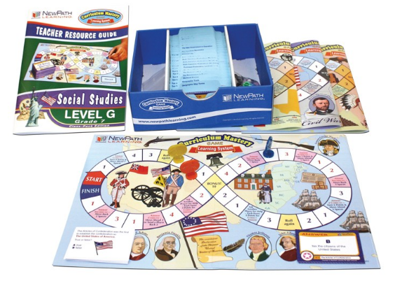 Grade 7 Social Studies Curriculum Mastery® Game - Class-Pack Edition