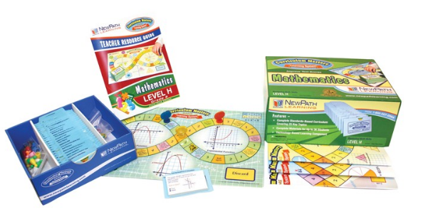 TEXAS Grades 8 - 10 Math Curriculum Mastery® Game - Class-Pack Edition