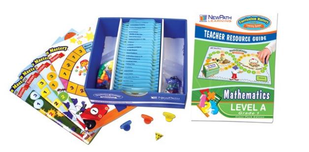 NEW YORK Grade 1 Math Curriculum Mastery® Game - Class-Pack Edition