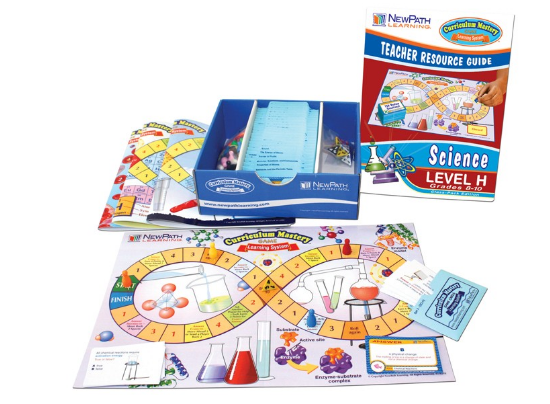 NEW YORK Grades 8 - 10 Science Curriculum Mastery® Game - Class-Pack Edition