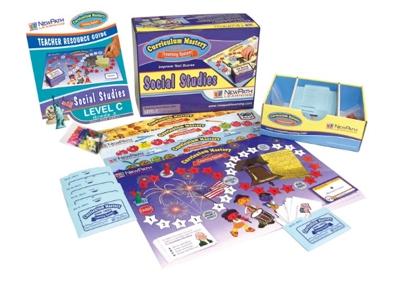 Grade 4 Social Studies Curriculum Mastery® Game - Class-Pack Edition