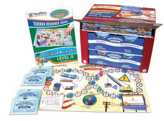 Grade 7 Curriculum Mastery® Set - Language Arts, Math, Science & Social Studies