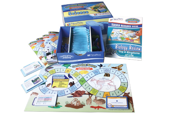 Six Kingdoms Curriculum Mastery® Game - Grades 5 - 9 - Class-Pack Edition