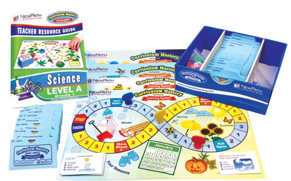 NEW YORK Grade 2 Science Curriculum Mastery® Game - Class-Pack Edition