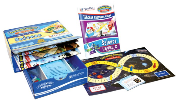 Grade 4 Science Curriculum Mastery® Game - Class-Pack Edition