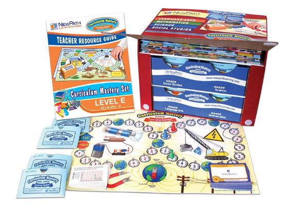 Grade 5 Curriculum Mastery® Set - Language Arts, Math, Science & Social Studies