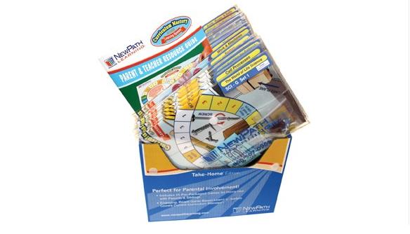 NEW YORK Grades 8 - 10 Math Curriculum Mastery® Game - Take-Home Edition