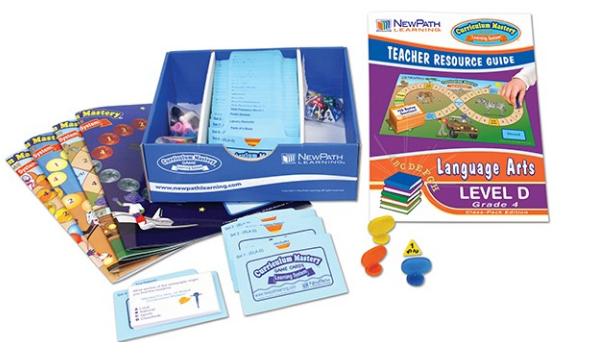 NEW YORK Grade 4 Language Arts Curriculum Mastery® Game - Class-Pack Edition