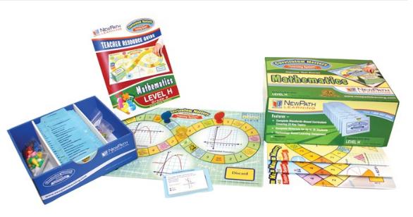 Grades 8 - 10 Math Curriculum Mastery® Game - Class-Pack Edition