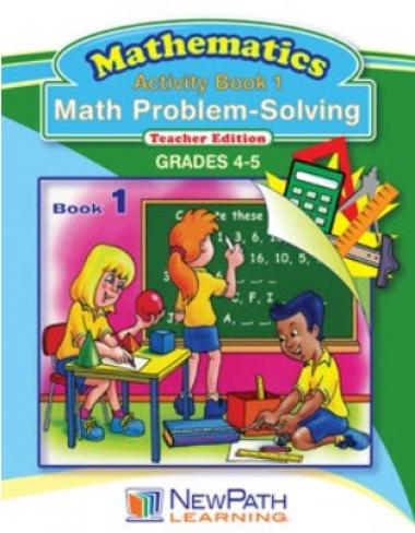 Math Problem-Solving Series - Book 1 - Grades 4 - 5 - Downloadable eBook
