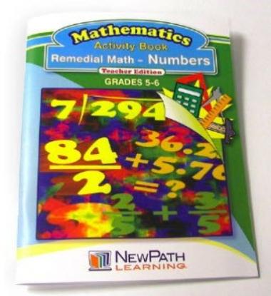 Remedial Math Series - Numbers Workbook - Grades 5 - 6 - Print Version
