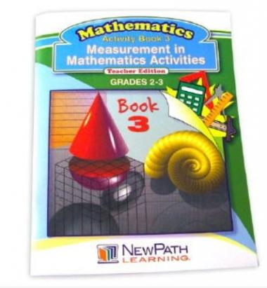 Measurement in Mathmatics Activities Series Workbook- Book 3 - Grades 2 - 3 - Print Version