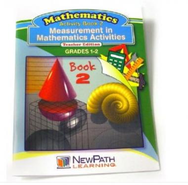 Measurement in Mathmatics Activities Series Workbook - Book 2 - Grades 1 - 2 - Print Version