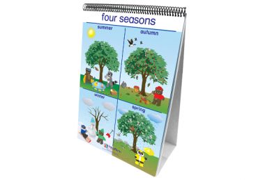 Weather & Sky Curriculum Mastery® Flip Chart Set - Early Childhood - English Version