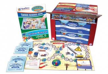 TEXAS Grade 7 Curriculum Mastery® Set - Language Arts, Math, Science & Social Studies