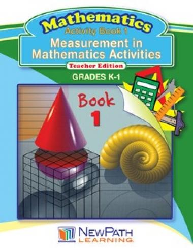 Measurement in Mathematics Activities Series - Book 1 - Grades K - 1 - Downloadable eBook