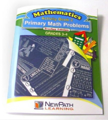Primary Math Problems Series Workbook- Book 2 - Grade 3 - 4 - Print Version