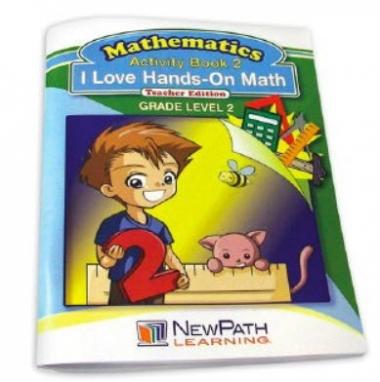 I Love Hands-On Math Workbook - Grade 2 - Print Version