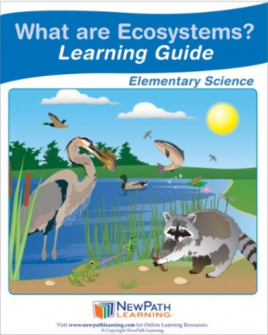 What are Ecosystems Student Learning Guide - Grades 3 - 5 - Downloadable eBook