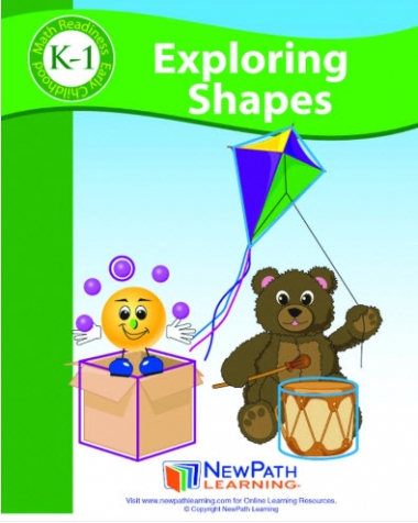Exploring Shapes Activity Guide - Grades K-1 - Print Version Set of 10