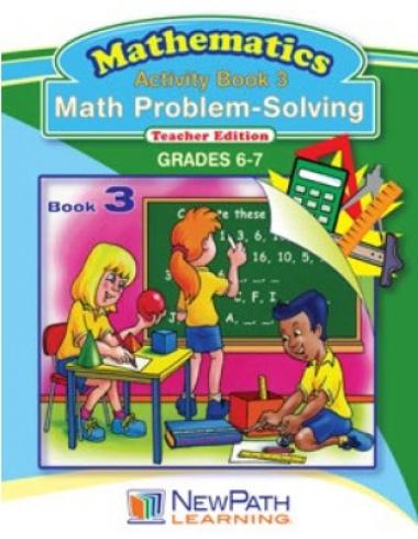 Math Problem-Solving Series - Book 3 - Grades 6 - 7 - Downloadable eBook