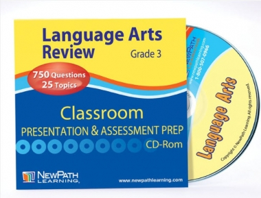 NEW YORK Grade 3 Language Arts Interactive Whiteboard CD-ROM - Site License