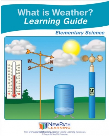 What is Weather? Student Learning Guide - Grades 3 - 5 - Downloadable eBook
