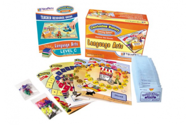 TEXAS Grade 3 Language Arts Curriculum Mastery® Game - Class-Pack Edition